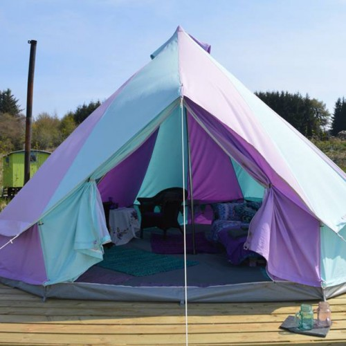 Large Tent Pitch Sleeps up to 8at Glenshee Glamping